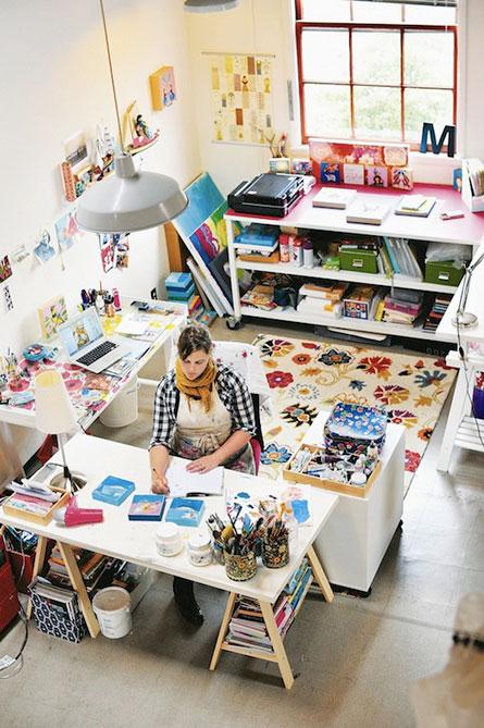 Studio Inspiration from designismine.blogspot.co.uk