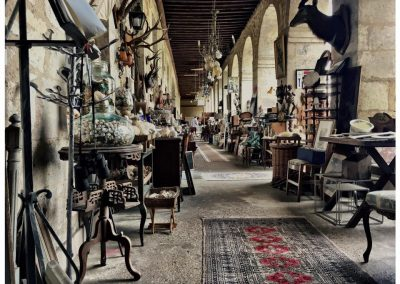 Brocante Village in Lectoure