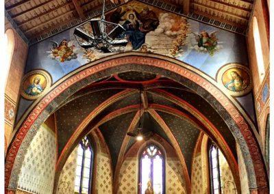 Church in Francescas, Lot-et-Garonne