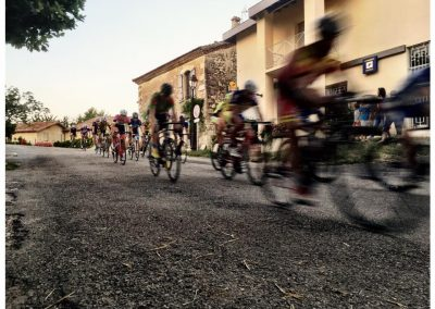 Cycle race, La Romeau