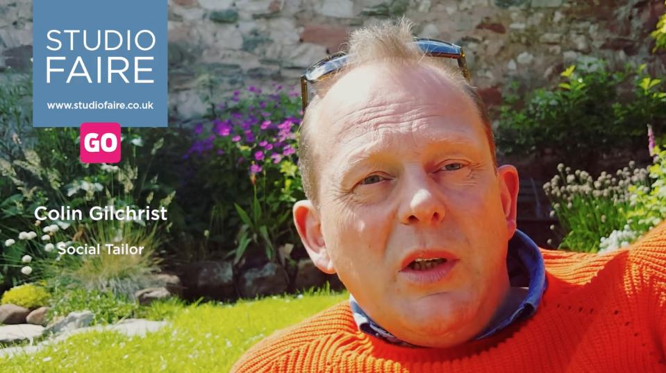 Colin Gilchrist talks about Studio Faire