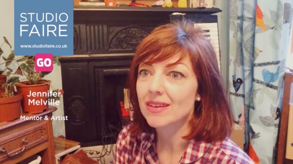 Jennifer Melville ponders her creative life