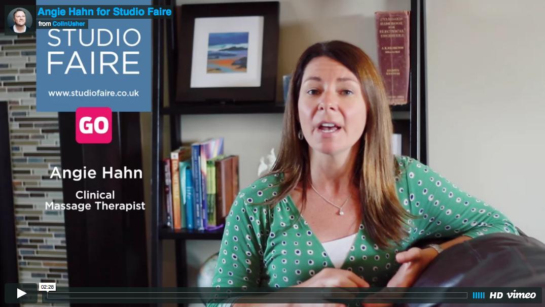 Angie Hahn discusses Studio Faire