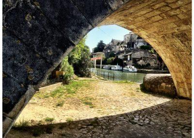 La Baïse river, Nérac