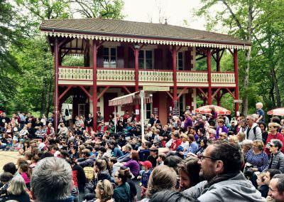 Festival, Parc de la Garenne, Nérac
