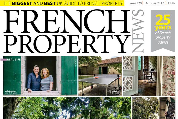 Our 'Real Life' Story in French Property News