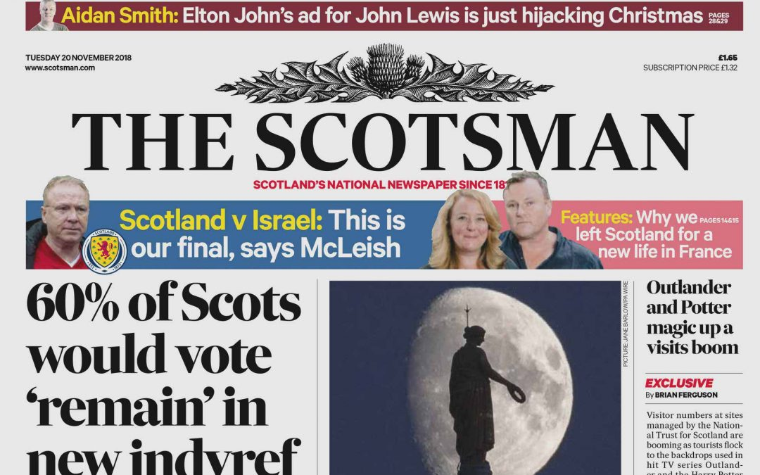 Double Page + Puff in this week's Scotsman